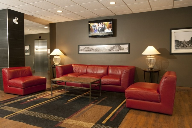 Professional Commercial Photo Lobby of Hotel