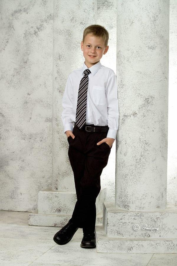 Professional Photo Child In Tie