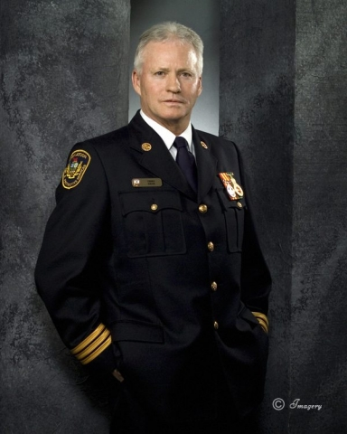 Professional Picture of Man in Uniform