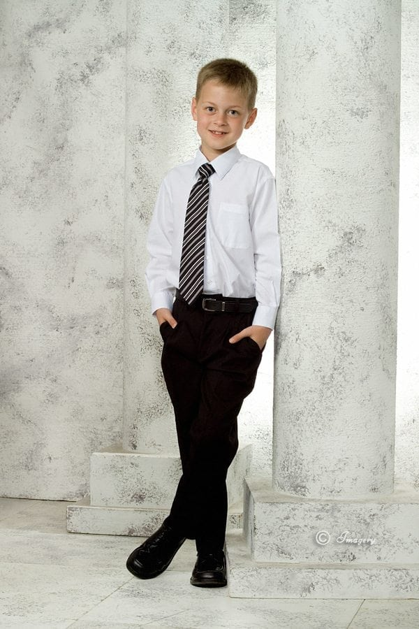 Professional Photo Child In Tie