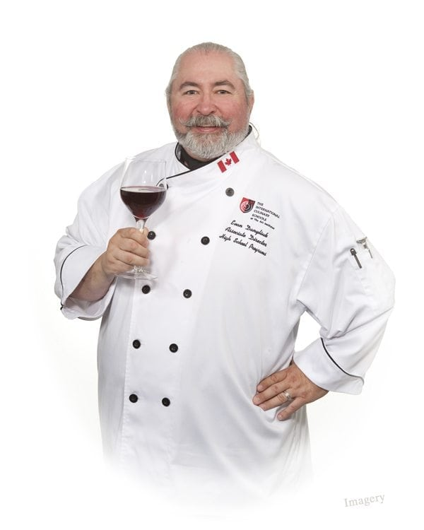 Professional Business Picture of Male Chef