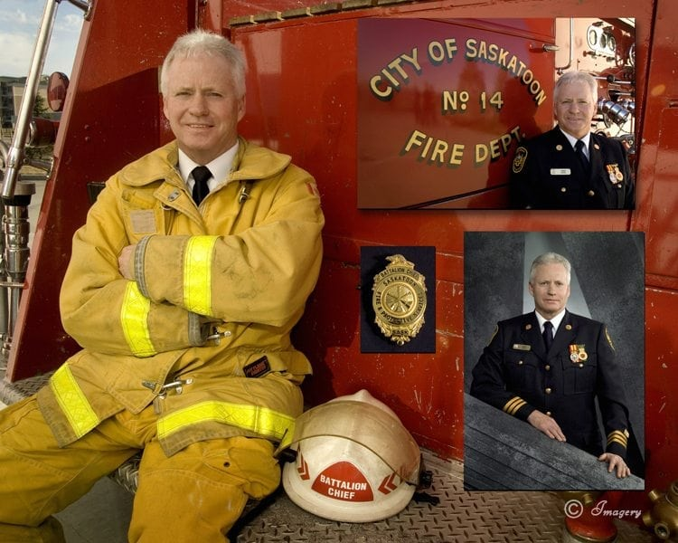 Professional Business Picture of Firefighter